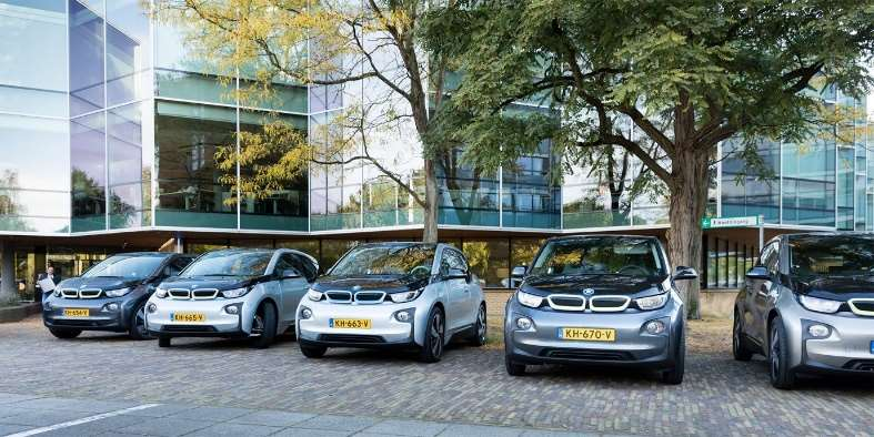 100% Electric lease fleet, Amersfoort office, The Netherlands